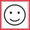 【表情】表情の違いで与える印象